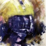 ND PLAYER 24in.x18in. acrylics on canvas $390