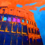 COLISEUM 36in.x48in. acrylics on canvas $3500