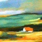 Italian Landscape (18inch x 24inch oil on canvas) $400