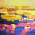 Italian Countryside (24inch x 36inch acrylic on canvas) SOLD