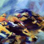 Horse Race (30inch x 40inch acrylic on canvas) $900