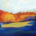 SPLENDID SECLUSION 36in.x60in. acrylics on canvas SOLD