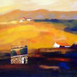 TUSCANY 30in. x40in. acrylic on canvas SOLD